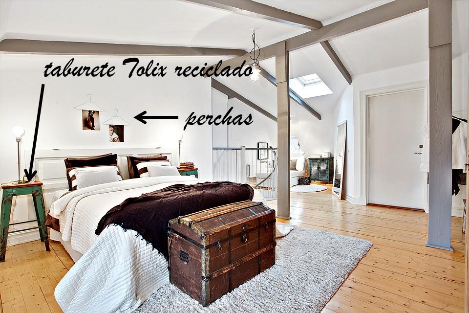 Decoraci n f cil ideas para crear un apartamento estilo escandinavo con reciclaje - Cabecero estilo escandinavo ...