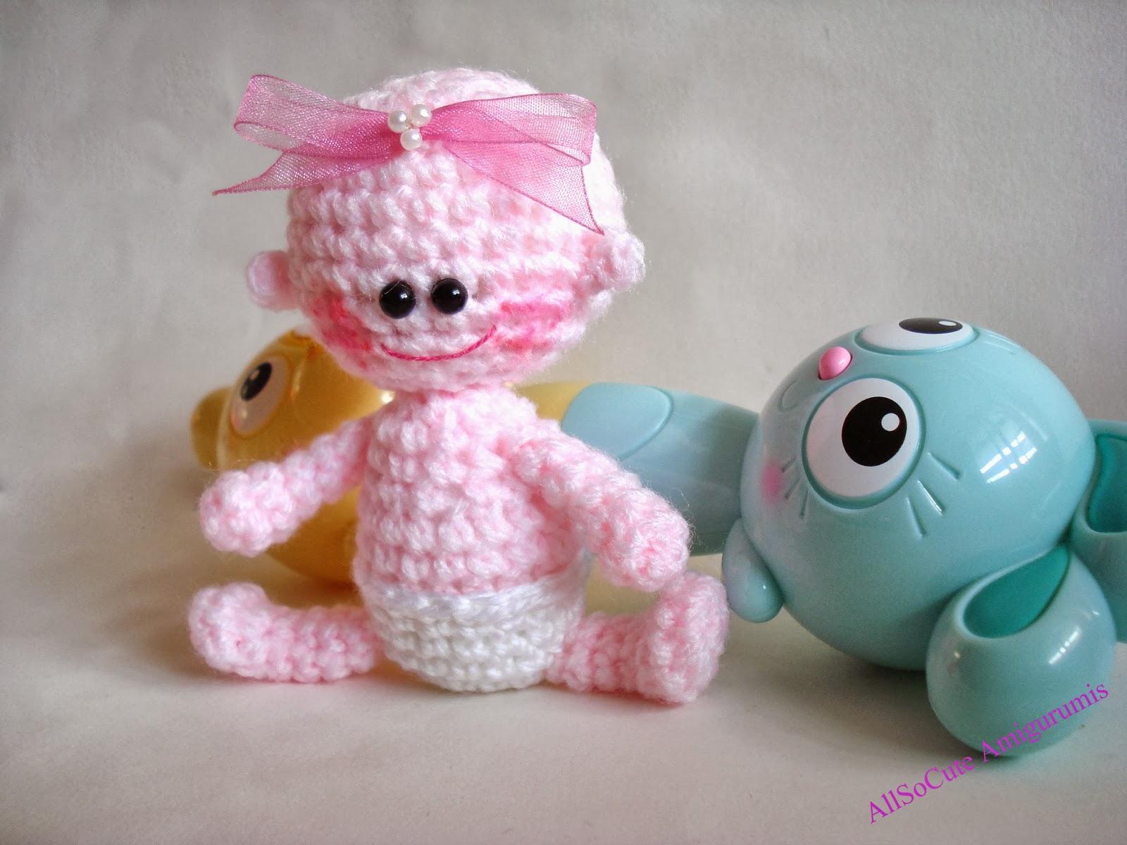 AllSoCute Amigurumis: Amigurumi Baby, Crochet Baby