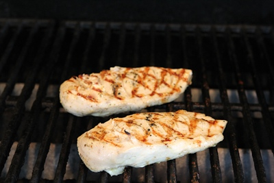 Kalyn's Kitchen®: Grilled Lemon-Cumin Chicken with Charmoula Sauce