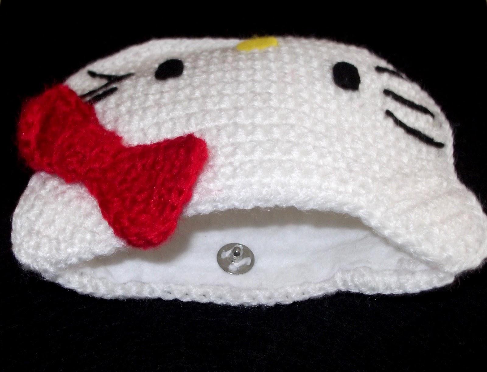 Moderno Libre De Hello Kitty Patrón Bolso De Ganchillo ...