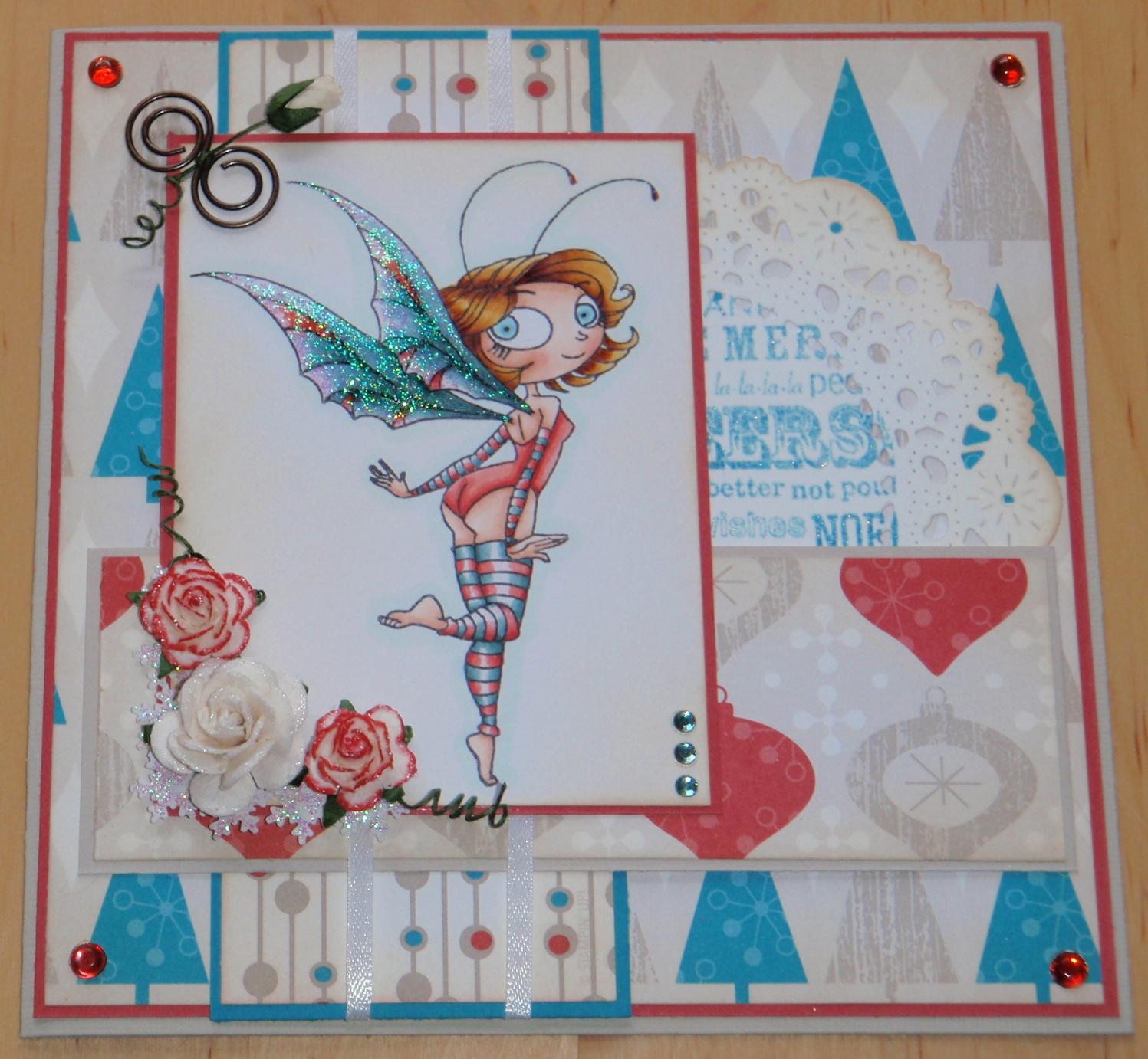 Bricolage de Brigitte: Fée de Noël/ Christmas fairy