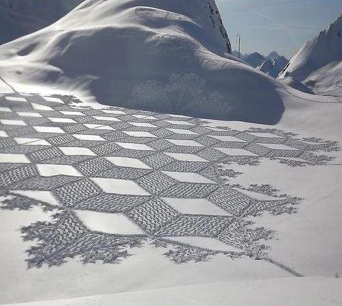 amazing art of snow - photo #24