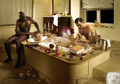 сексуальные красавцы в ванной
