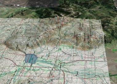 Ennis Overlay Map