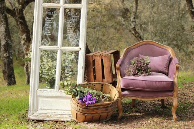 Empresas donde alquilar la decoraci n de tu boda blog de for Muebles para bodegas rusticas