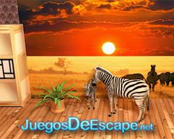 solucion juego Safari Escape guia