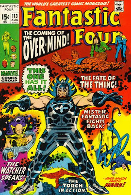 Fantastic Four #113, the Over-Mind