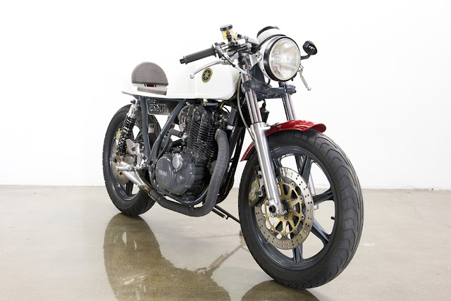 1978 Yamaha SR 500 cafe racer | Lossa Engineering | yamaha cafe racer | yamaha sr500 cafe racer | yamaha sr500 cafe racer kit | yamaha sr500 cafe racer for sale | yamaha sr500 cafe racer parts | way2speed.com
