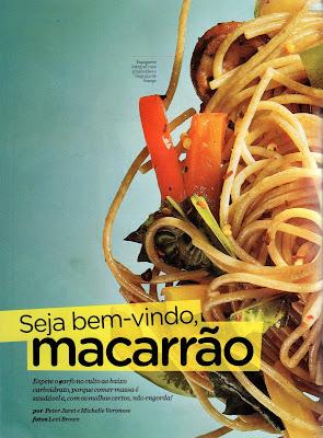Revista001 - Hummm... Seja bem vindo, macarrão: Mariana Duro na Women's Health