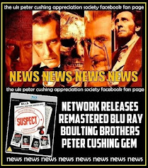 NEWS: BOULTING BROTHERS PETER CUSHING GEM COMES TO BLU RAY AT LAST!