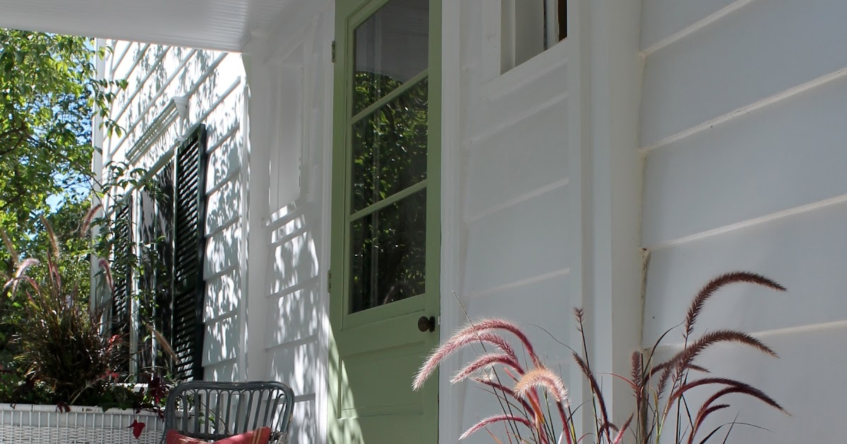 Designing Domesticity A Fall Welcome Front Porch
