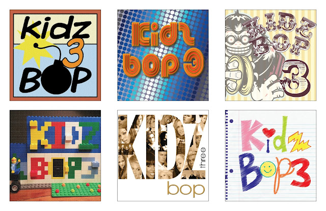 Kidz Bop 3 Album CD Cover Redesign