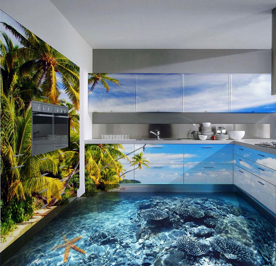 Increíbles pisos 3D en baños, recamaras y cocinas. | Quiero más diseño