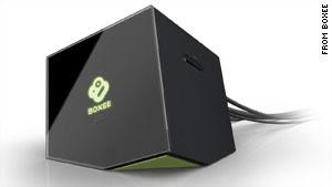 La caja de internet para el televisor