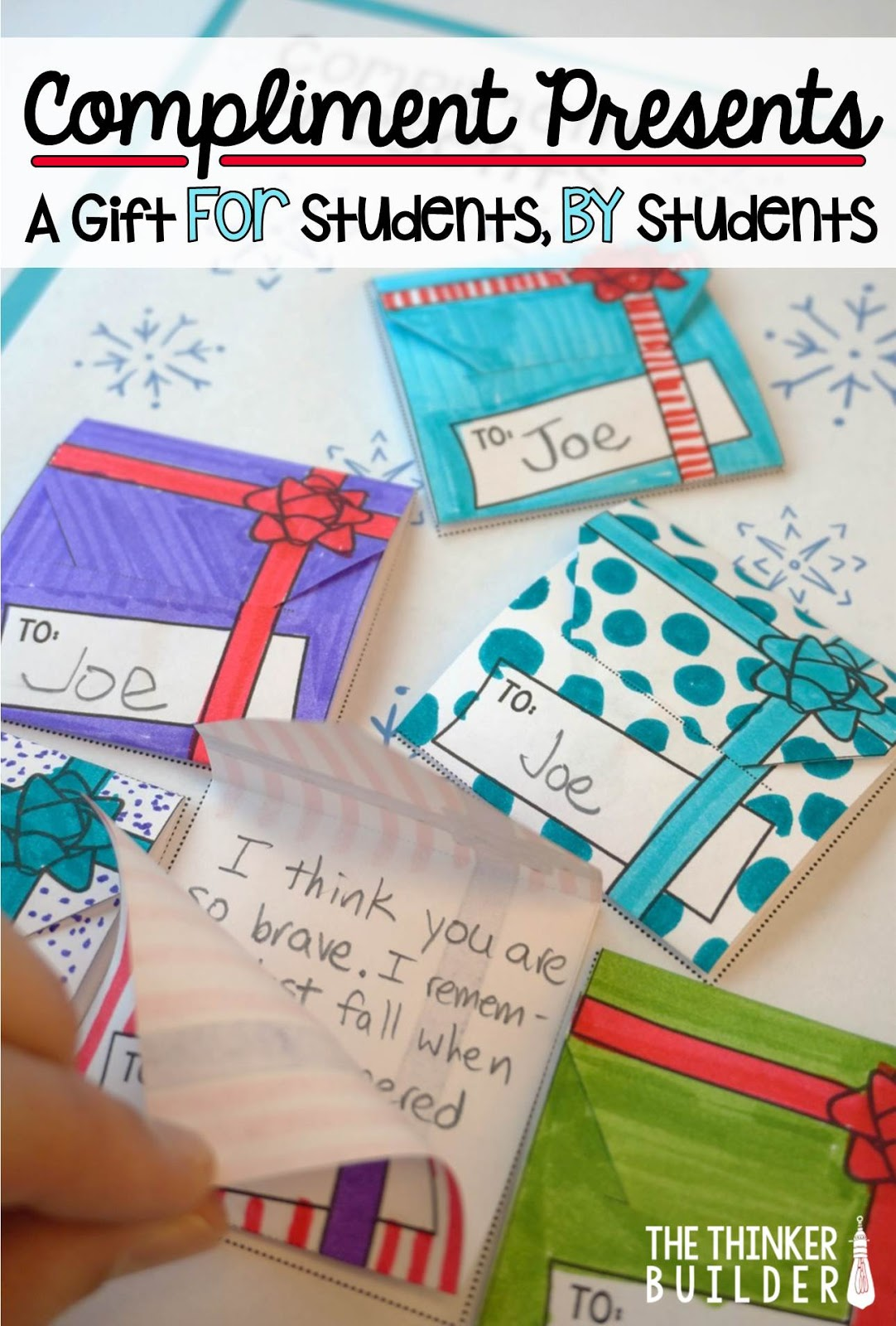 Compliment Presents! A Holiday Gift FOR Students, FROM Students ...