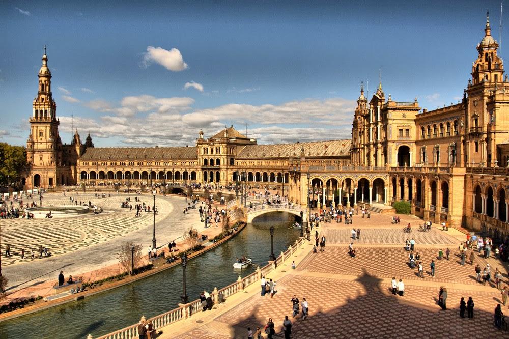 La Plaza de España de Sevilla