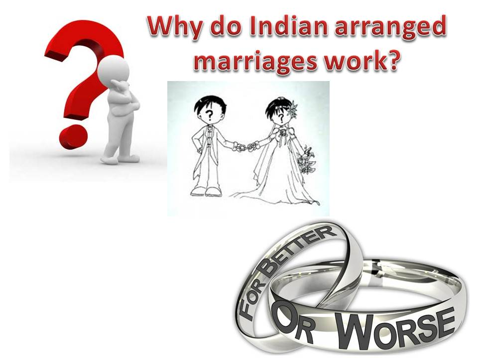essay on arranged marriages work better