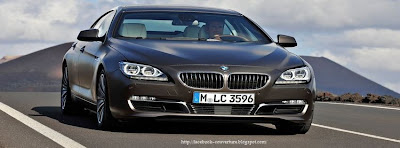 Couverture facebook BMW 6 Coupé Gran