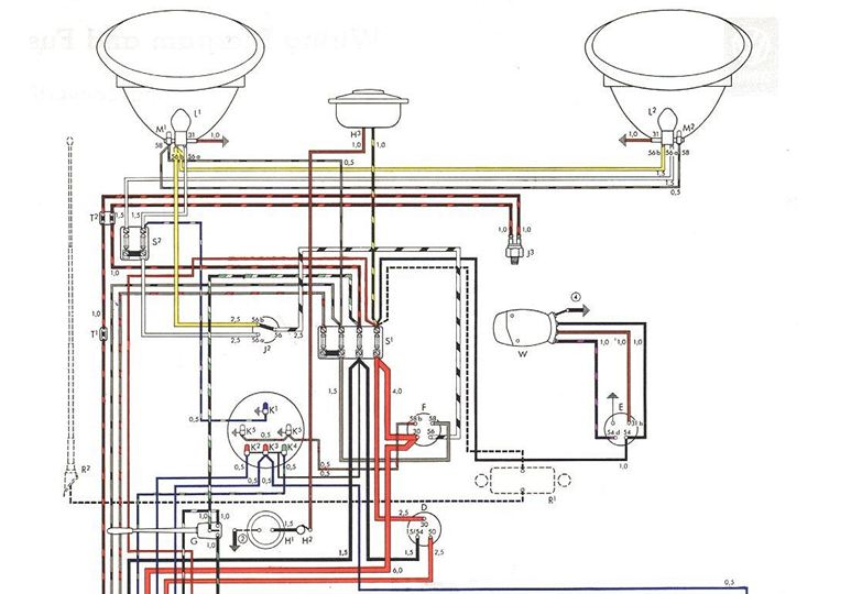 v3 vw beetle electrical wiring diagram volkswagen wiring diagrams vw beetle headlight switch wiring diagram at gsmx.co