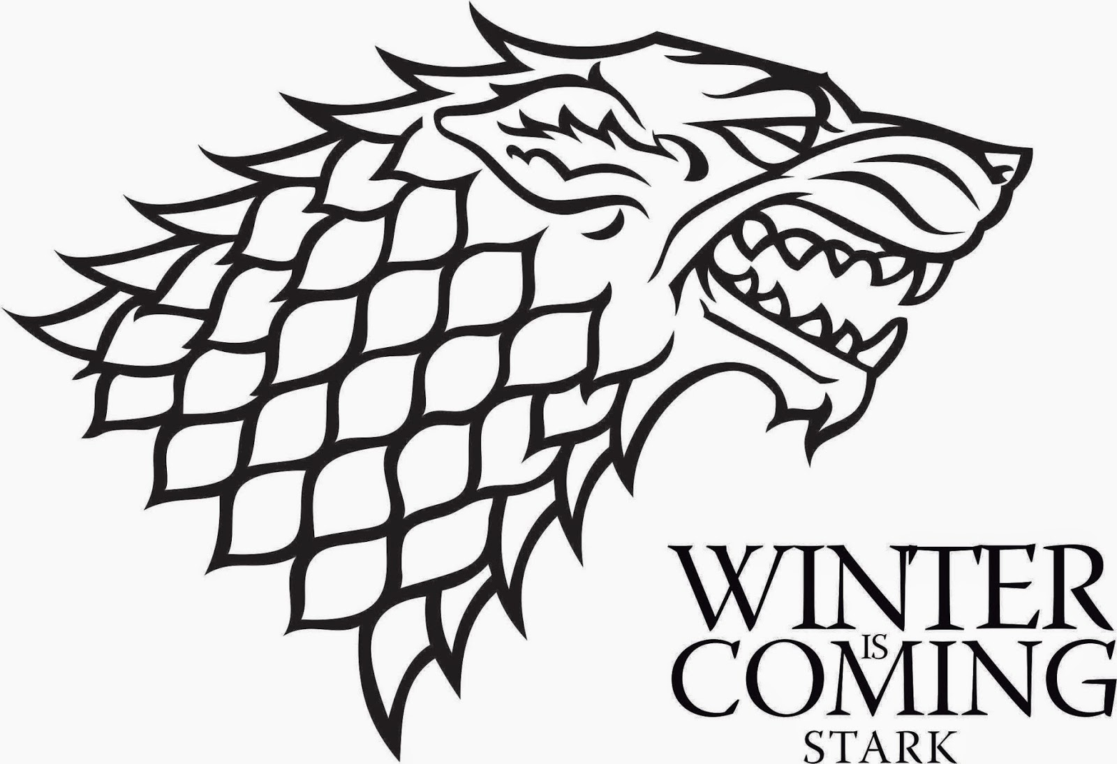 AldLogos: logo Game of thrones vectorizado