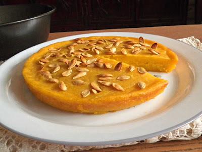 Bingka Labu / Baked Pumpkin Cake GF Recipe @ http://treatntrick.blogspot.com