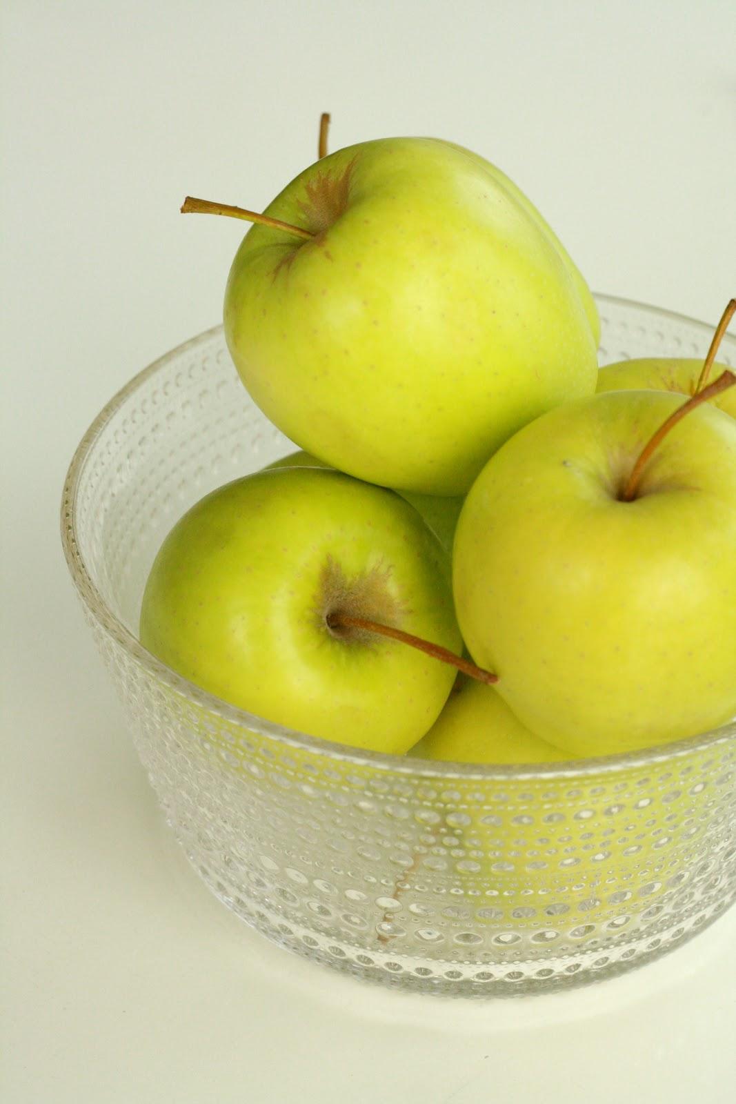äpple bra för magen