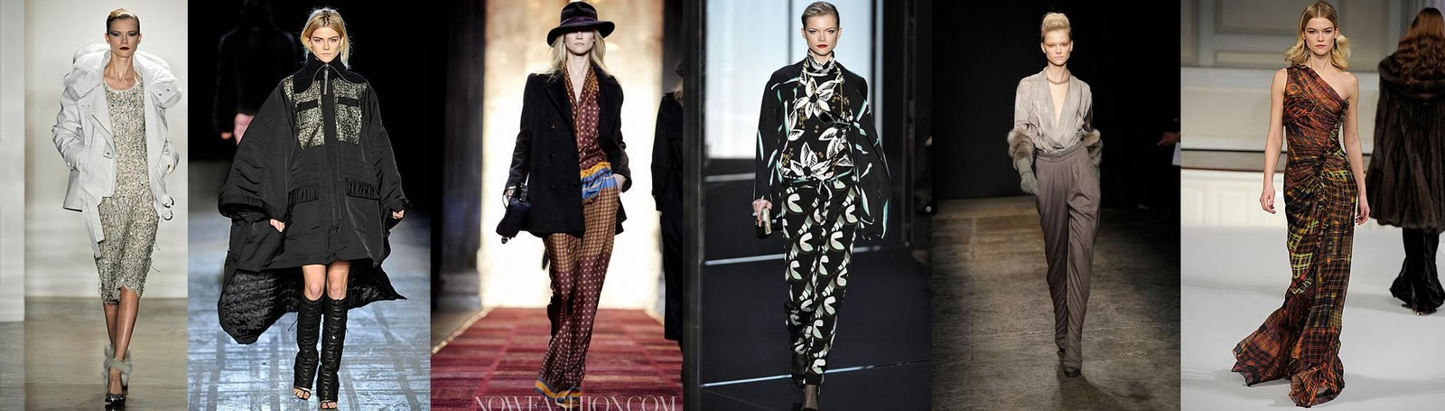 Poland in the world of fashion: NY FW catwalk shots.
