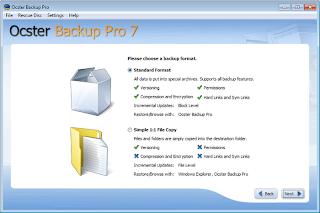 برنامج عمل نسخة احتياطية للويندوز download ocster backup