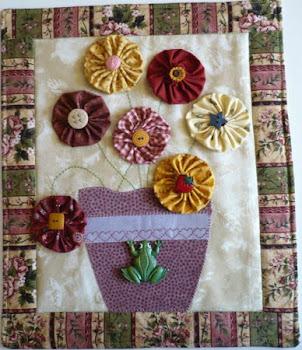 """miniquilt """"panel primaveral""""..."""