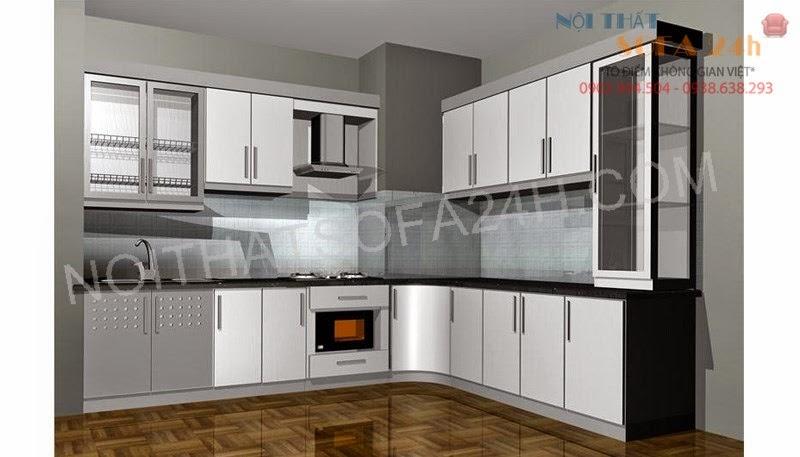 Tủ bếp TB040