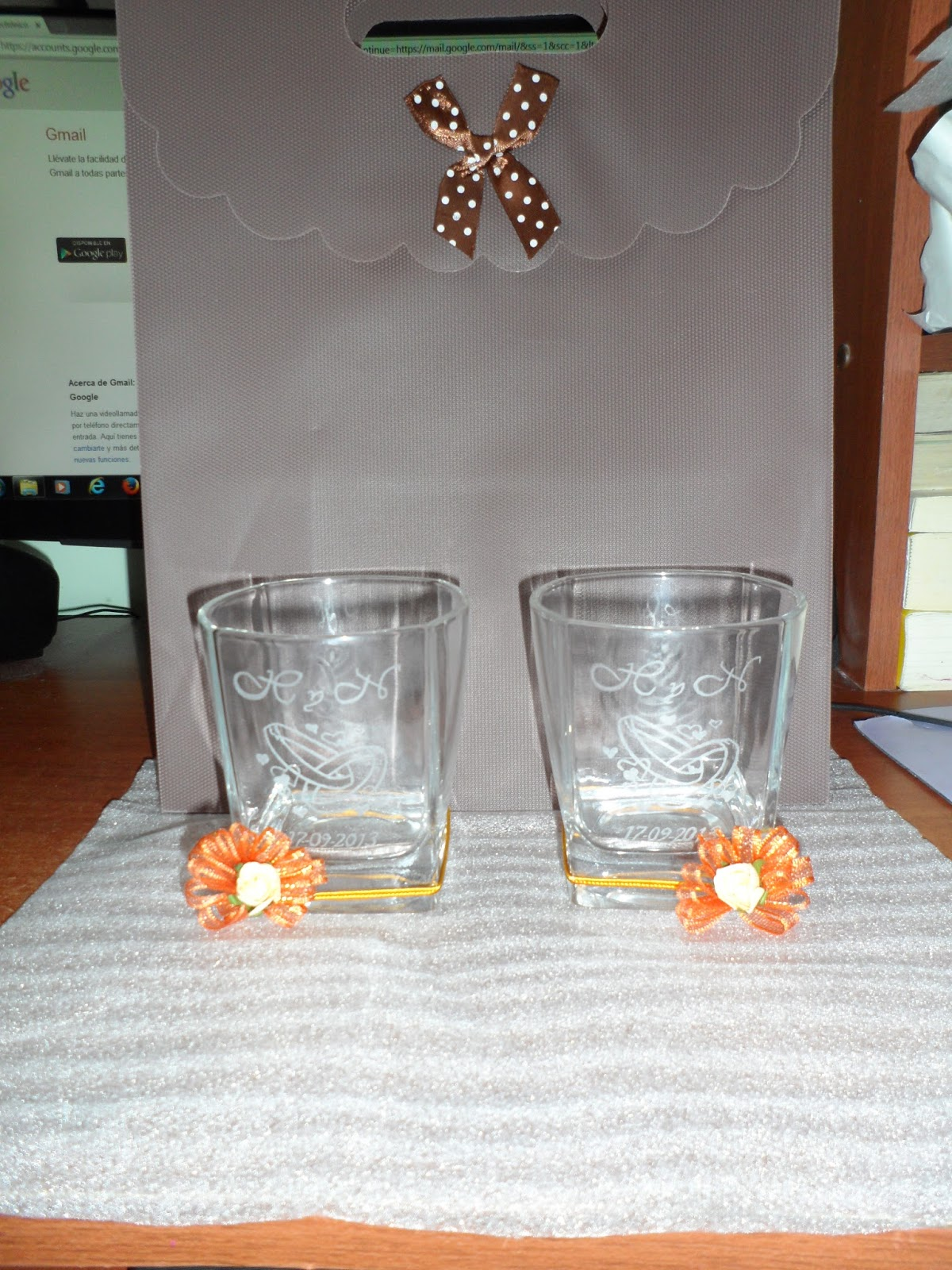 Copas grabadas a mano para bodas 15 a os aniversarios for Copas para whisky