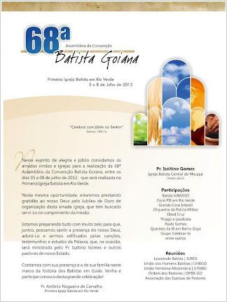 Asembléia da Convenção Batista Goiana