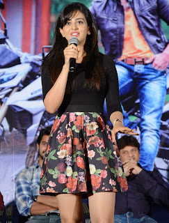 Actress Rakul Preet Singh Pictures in Floral Short Skirt at Rough Teaser Launch  2