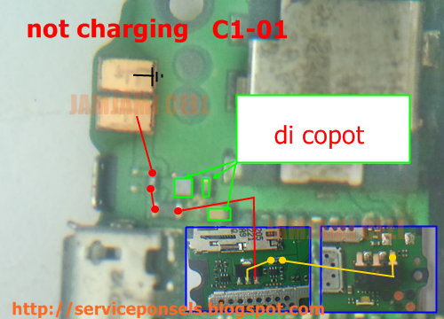 not charging c1-01, jamjami cell