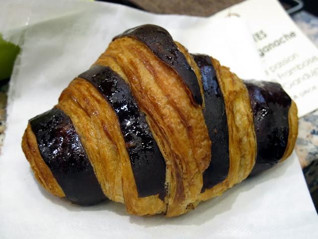 Salon du Chocolat - Laurent Duchêne - Croissant chocolat praliné