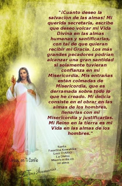 jesus desea la salvacion de las almas investiga sobre la devocion a la divina misericordia