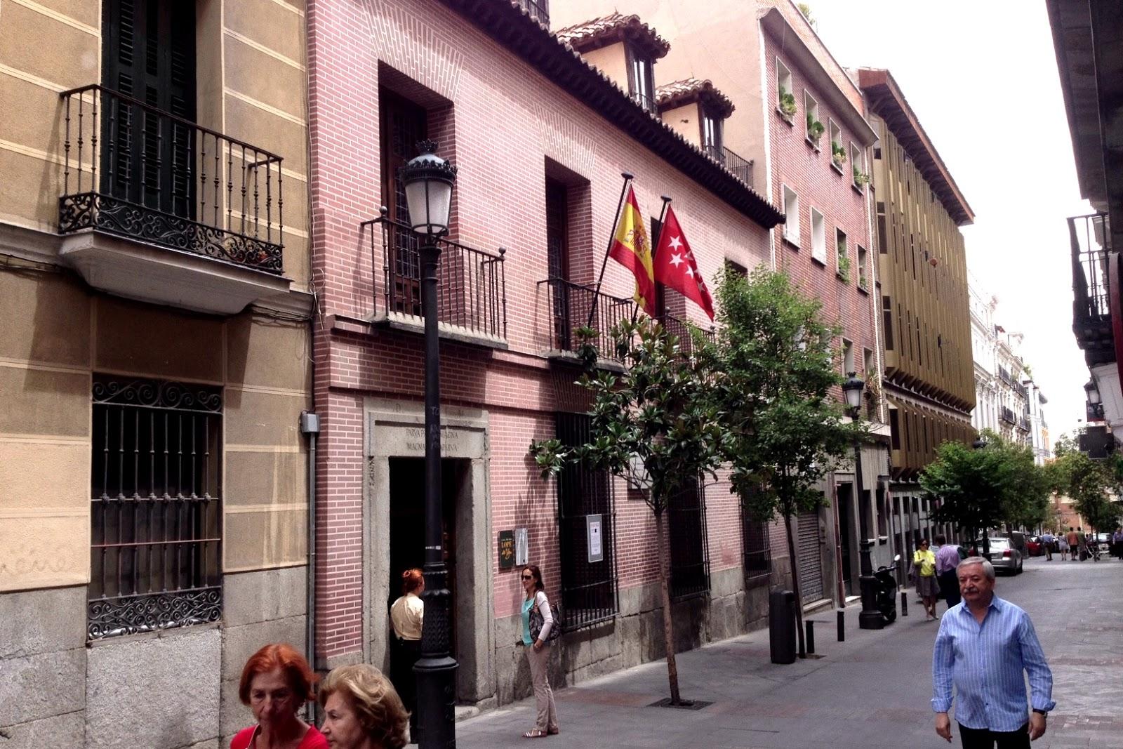 Madrid con arte madrid ins lito casa museo de l pe de vega en pleno centro de la ciudad - Casa vega madrid ...