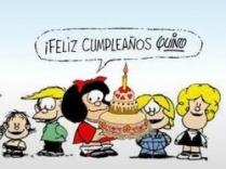 Feliz cumpleaños Quino