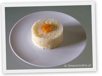 Dietetyczne ale smaczne tanie danie - ryż z jabłkami