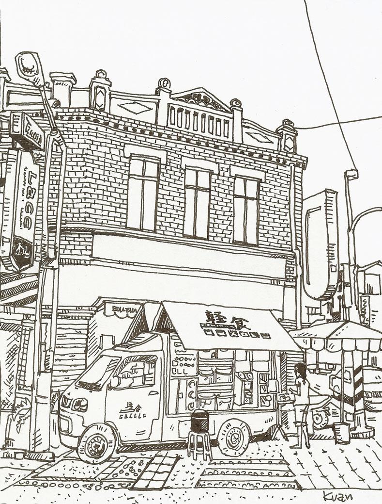 太平老街插畫-1