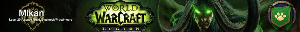 World of Warcraft Legion Blackrock Proudmoore ミカン Mikan 日本人ギルド WoWJapanizer JPN