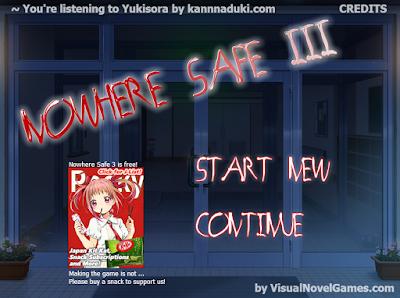 nowhere safe 3 visual novel review