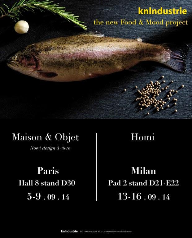KnIndustrie a Maison & Objet e Homi di settembre 2014