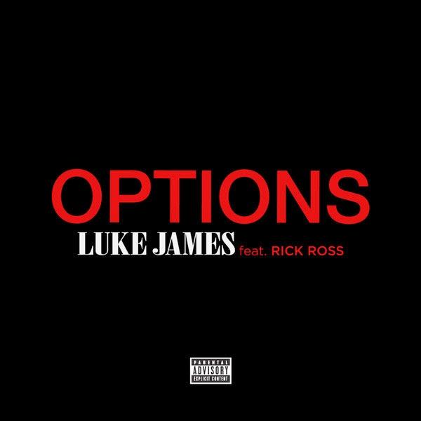 Luke James - Options (feat. Rick Ross) - Single  Cover