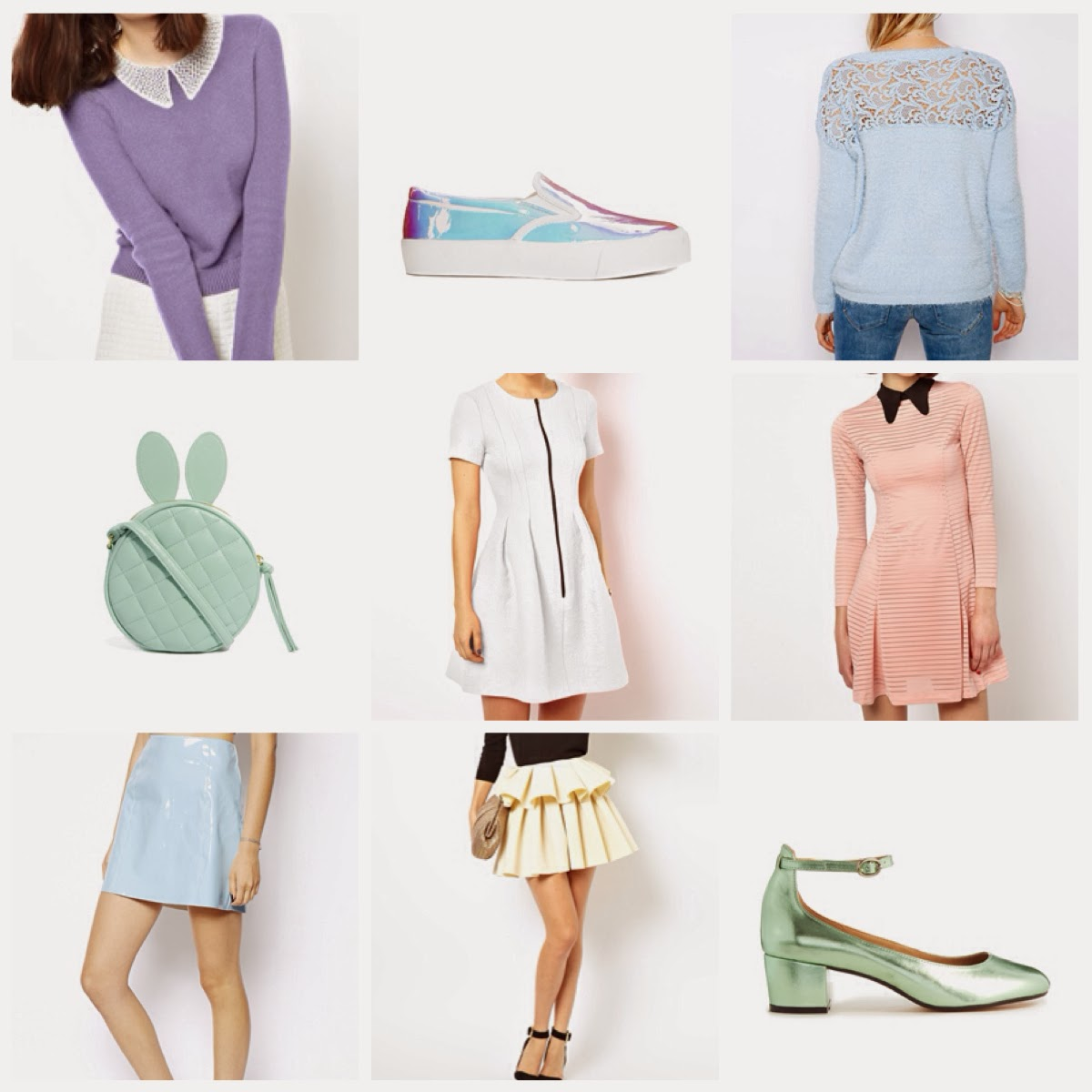 Pastel Fashion inspiration