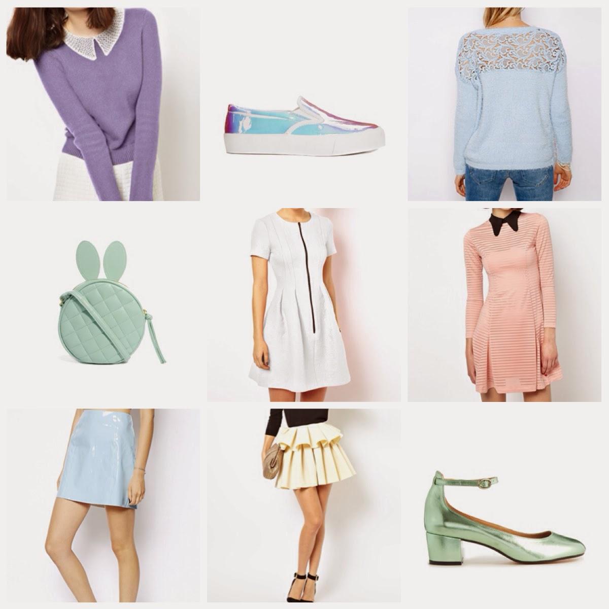 Pastel Fashion inspiration