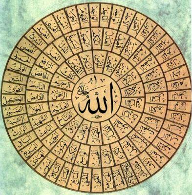 ... Asmaul Husna - Sembilan Puluh Sembilan Sebutan Tuhan Asma'ul Husnah