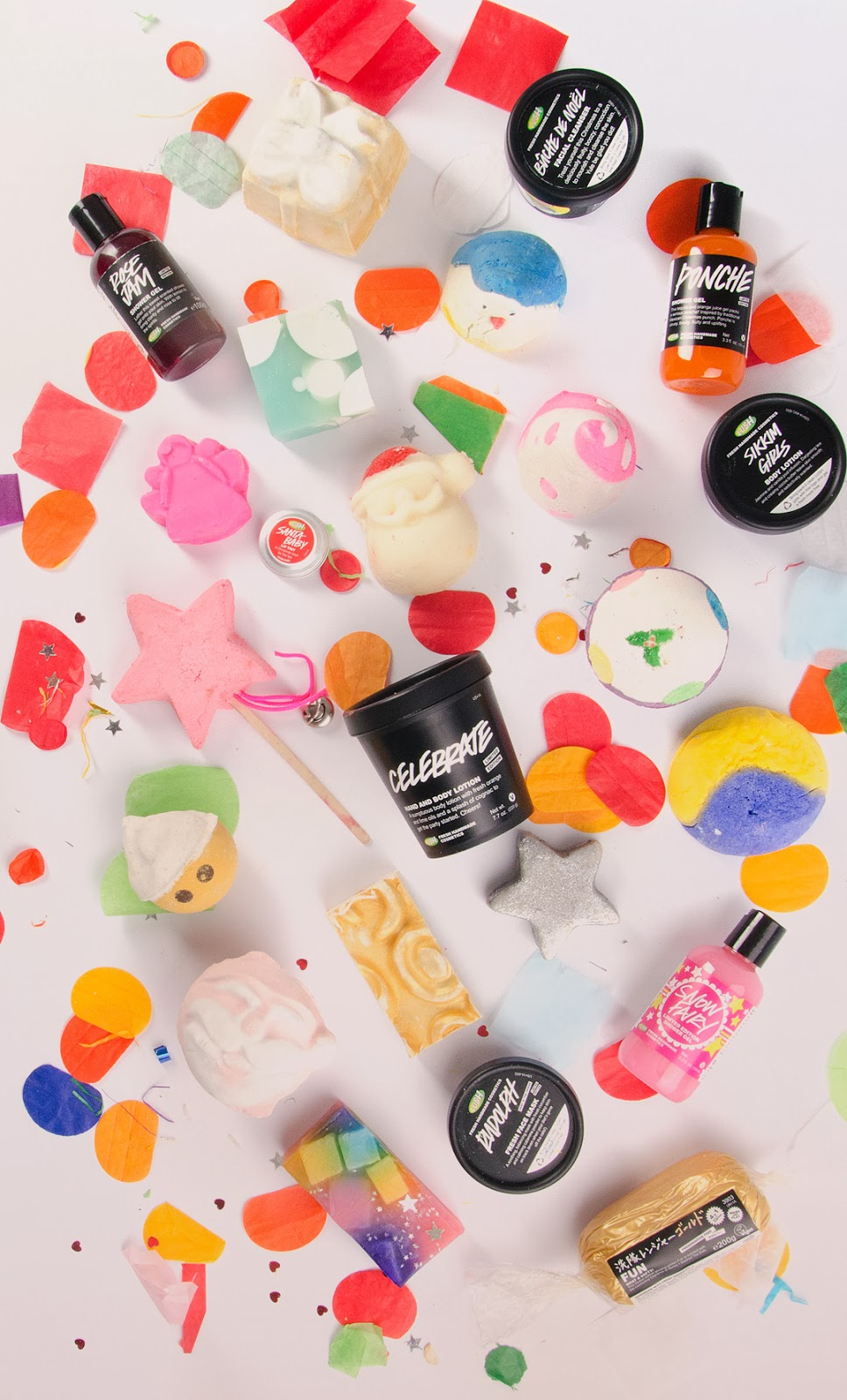 It\'s a Lush Christmas | Lush Cosmetics Chrismas Collection Preview ...