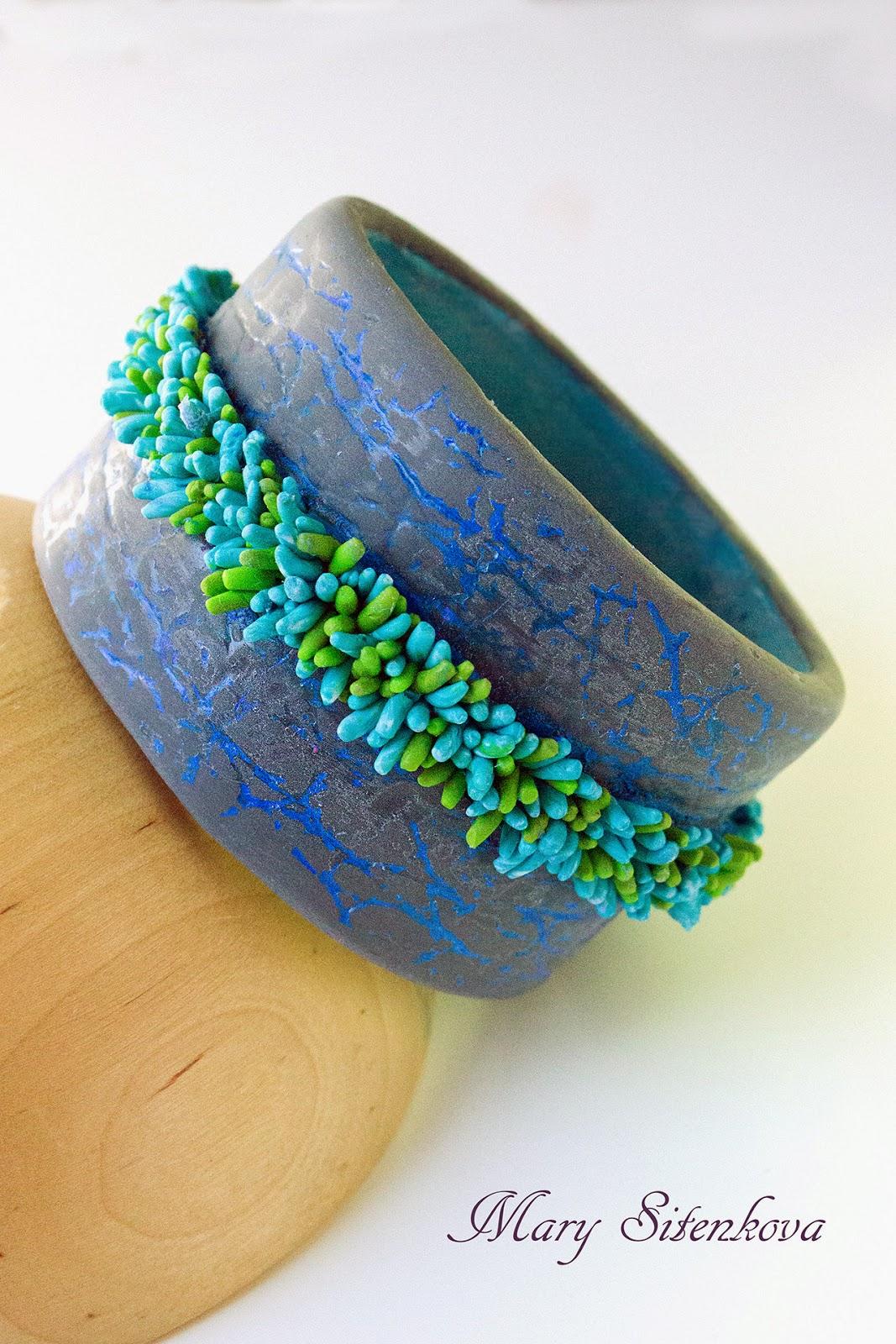 bracelet polymer clay