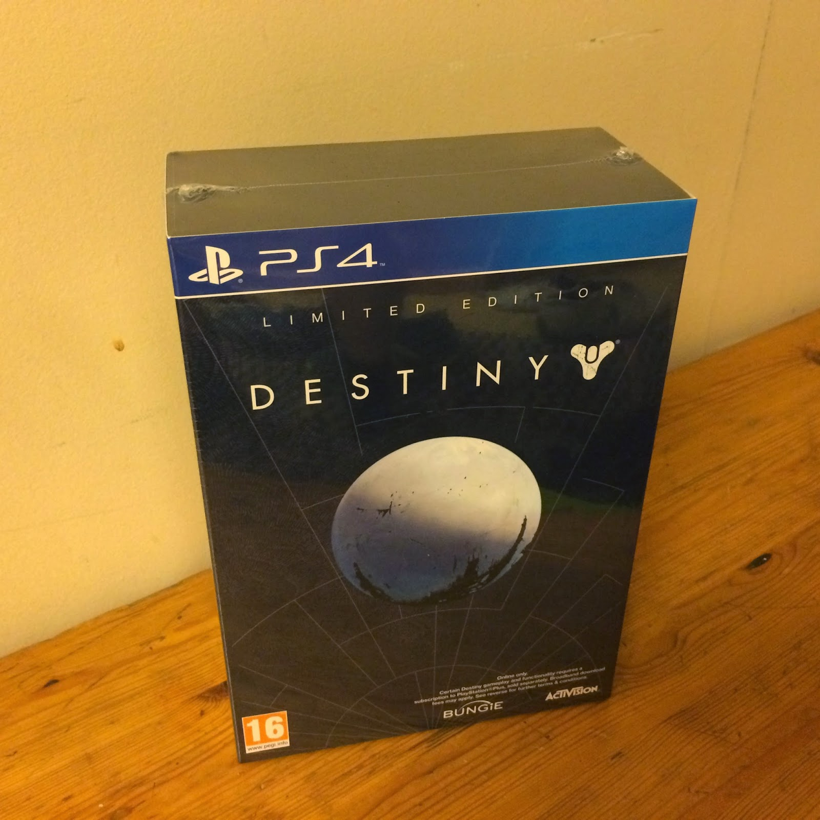 Destiny Limited Edition pakkaus